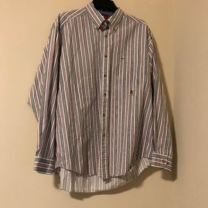Men's Tommy Hilfiger Striped Button Down-Large